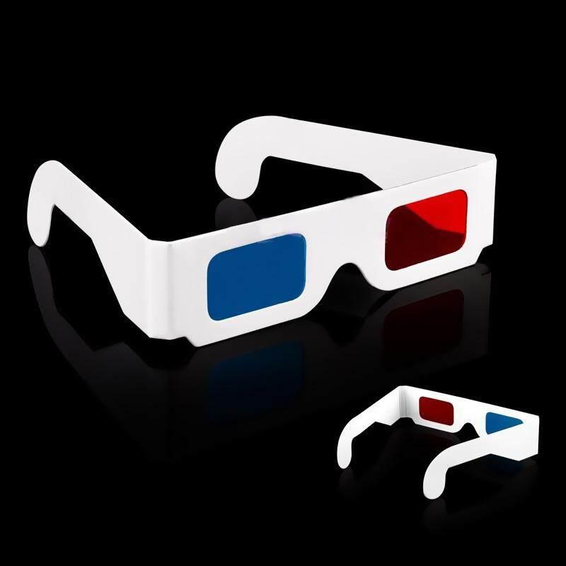 10 chiếc Tướng đóng gói giấy 3D kính dùng một lần 3D kính kính giấy