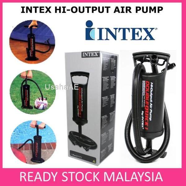 INTEX Hi-Output Air Pump baby neck float pool inflate air mattress