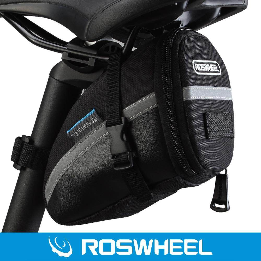 Original Roswheel Outdoor Cycling Bike Saddle Bag Seat Tail Pouch