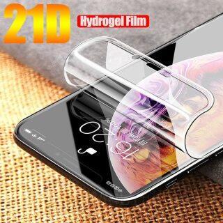 Phim Hydrogel Mềm 21D Trong Suốt HD, Dành Cho IPhone 11 12 Pro Max 12 Mini XR XS Max 6 SE 7 8 Plus Bảo Vệ Màn Hình Silicone TPU Không Phải Kính thumbnail