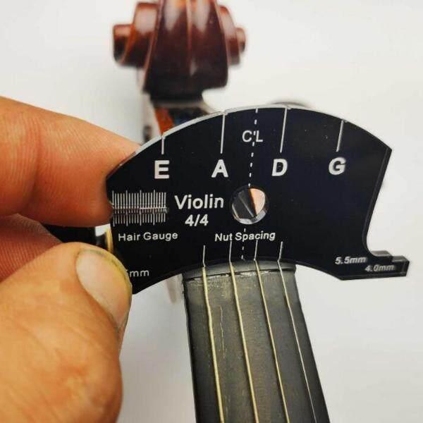 Âm Thanh Kỳ Diệu 3/4 4/4 Cello Ngựa Đàn Violin Guitar Scraper Đa Chức Năng Công Cụ Mẫu