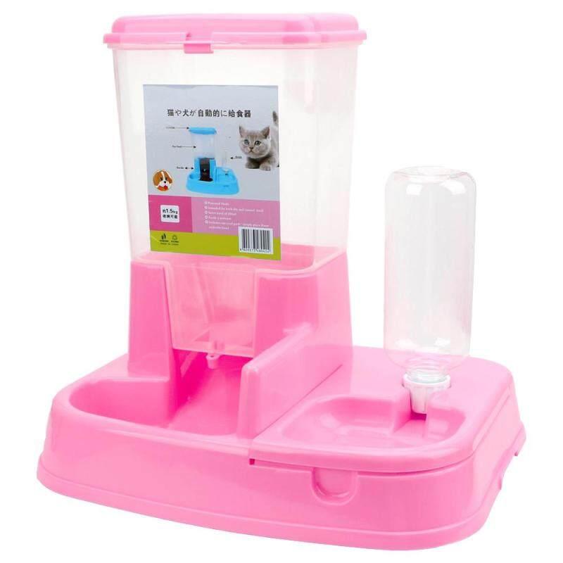 1 Bộ Bình Nóng Lạnh Dung Tích Lớn Cho Chó Uống Nước Cho Mèo Ăn Bộ Nạp Tự Động Bát Uống Nước Cho Thú Cưng
