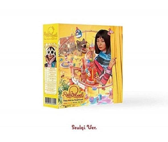 [Seulgi cover] Red Velvet - (Zimzalabim) [Day 1 Ver.] The Reve Festival' Day 1 (Mini Album) CD+Photobook+Folded Poster+Store gift photocard - kpop