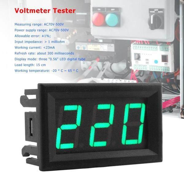 Bảng giá [Bside Tool Store] AC70-500V 0.56 Inch 2 Dây LED Vôn Kế Kỹ Thuật Số Vôn Kế Vôn Kế Volt Tester