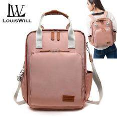 LouisWill Diaper Bag Mummy Maternity Nappy Bag Fashion Large Capacity Baby Bag Mother Bag Waterproof Travel Backpack Nursing Bag for Baby Care