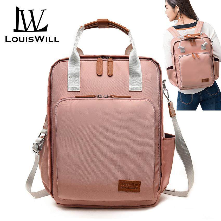 d2f332405dd LouisWill Diaper Bag Mummy Maternity Nappy Bag Fashion Large Capacity Baby  Bag Mother Bag Waterproof Travel Backpack Nursing Bag for Baby Care