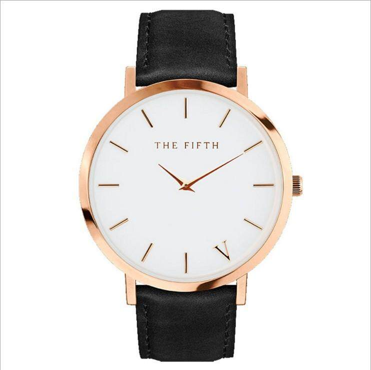 (Arrived in 3-4 Days)Dewin The Fifth Watch Leather Simple Women Quartz Analog Band Malaysia