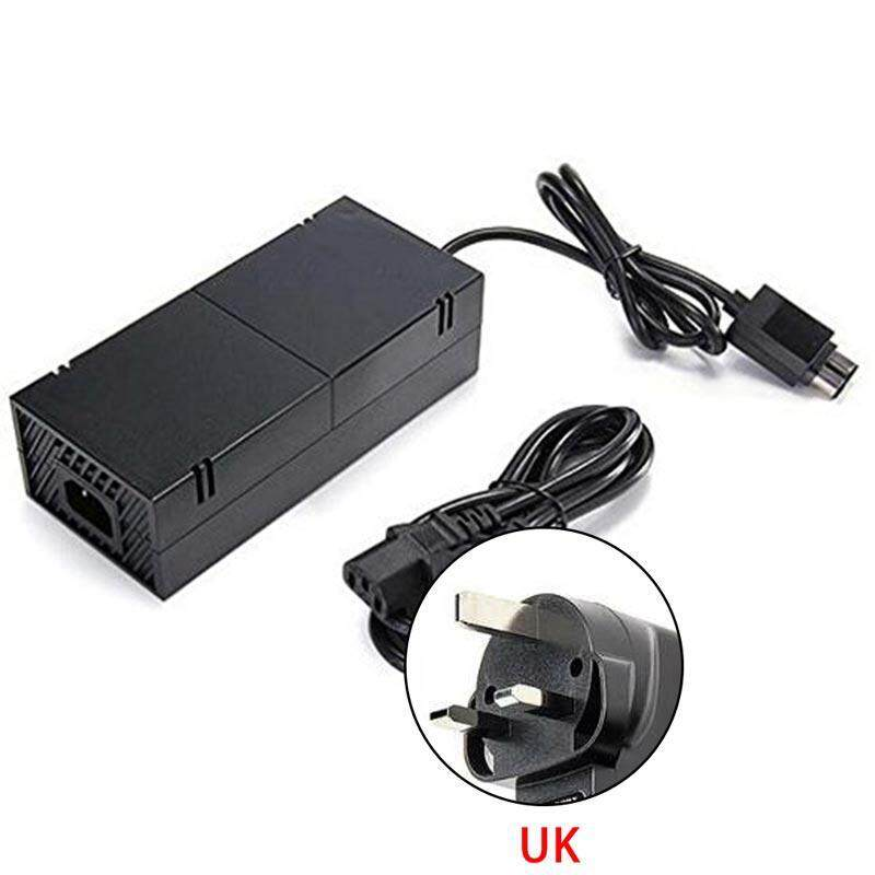 Goodgreat Xbox One Power Supply Brick,attone Ac Adapter Cable Replacement Kit For Xbox One Console Games, Auto Voltage 100-240v, Black By Good&great.