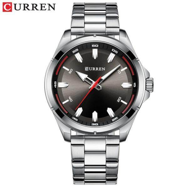 CURREN Men Watches Full Steel Strap Fashion Quartz Watch High Quality Movement Waterproof Shockproof 8320 Malaysia
