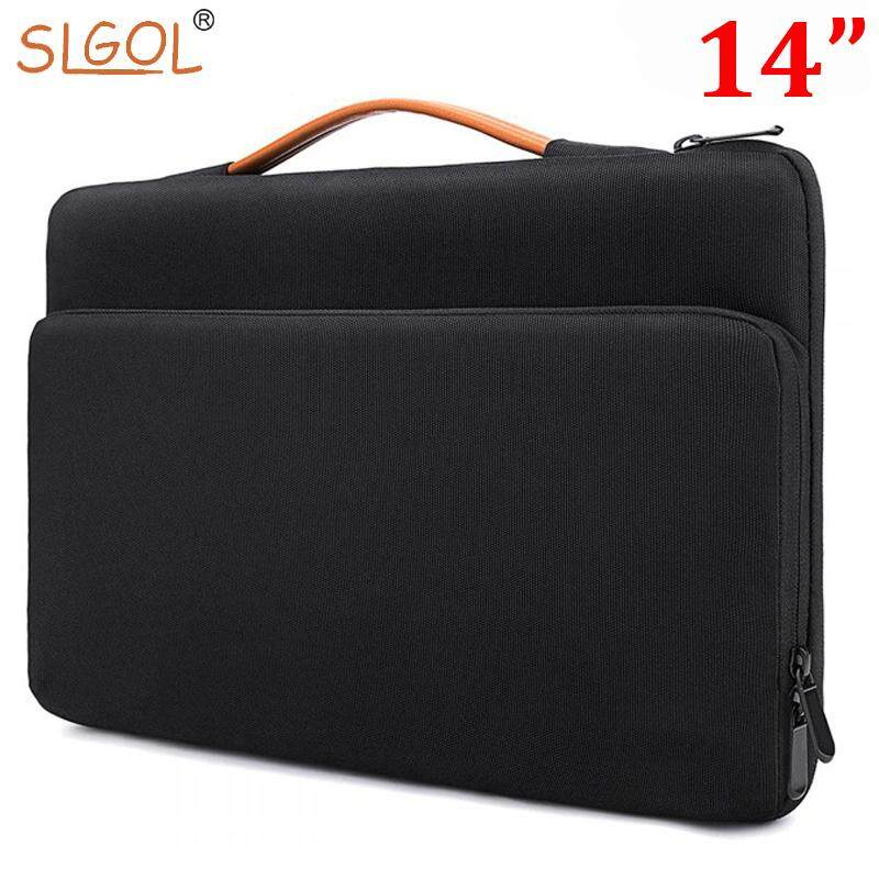 13.3 Inch to 14 Inch Laptop Case Laptop Sleeve Briefcase, Water Repellent Laptop Bag Tablet Business Handbag for Women and Men by SLGOL-direct