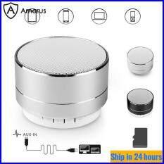 [Loa Amorus], Loa Không Dây Bluetooth, Loa Bluetooth Cầm Tay Kim Loại A10 Loa Bluetooth Loa Điện Thoại Mini