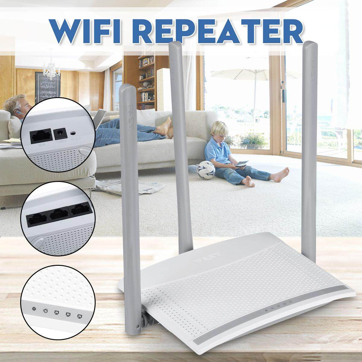 【Free Shipping + Flash Deal】WiFi Repeater FW315R high power wireless WIFI router Broadband high speed 100M fiber