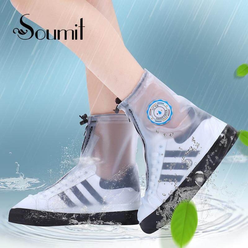 6eb70be37226 Wintin PVC Fashion Waterproof Rain Shoe Cover for Men Women Shoes Protector  Reusable Boot Covers Overshoes