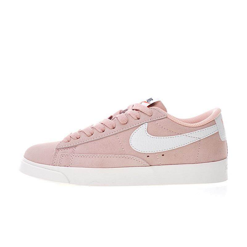new product 6432f 1df6d nike B l a z e r Low Women s Comfortable Skateboard Shoes Sport Sneakers  Balanced Light