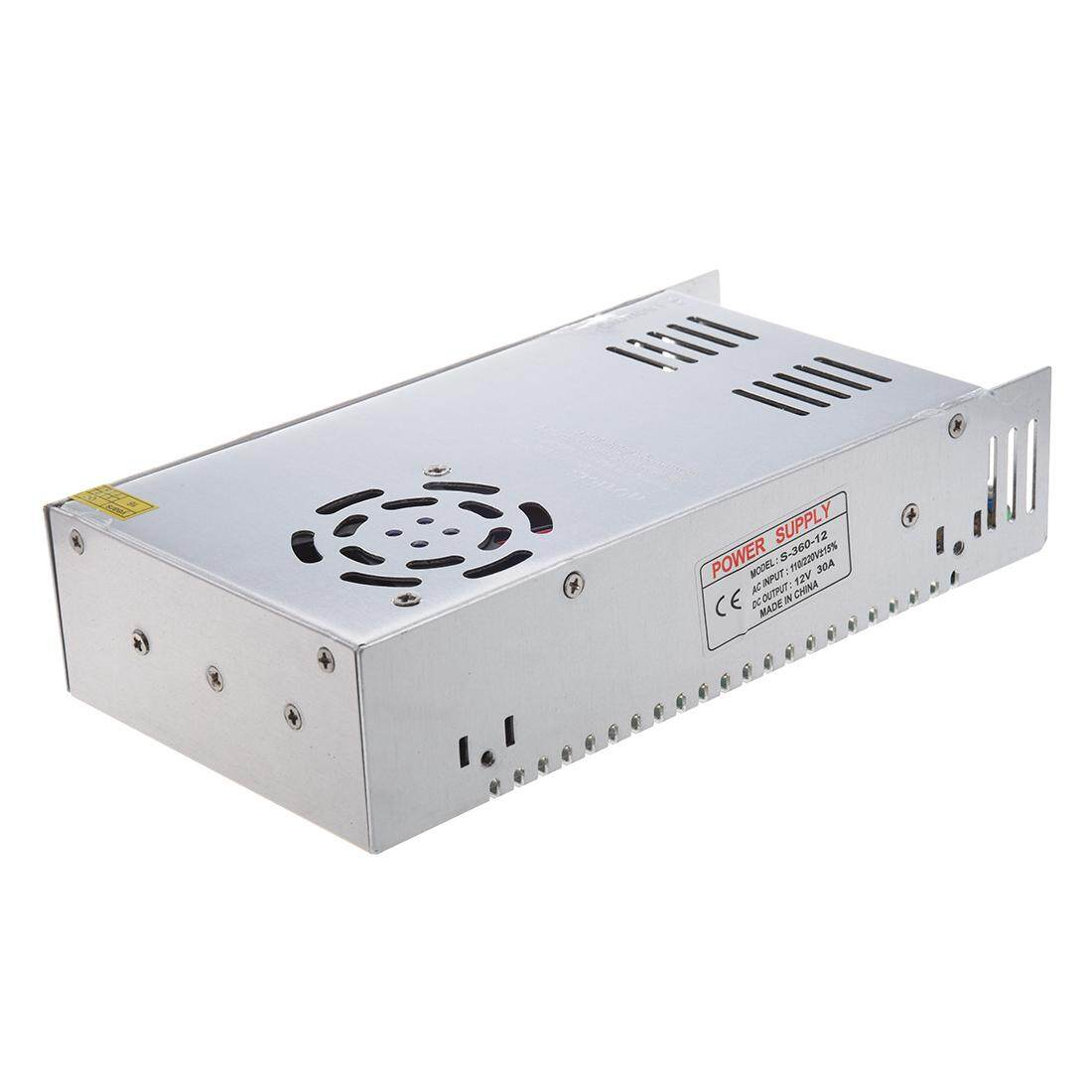 AC 110/220V DC 12V 30A 360W Switching Power Supply Converter for LED Flexable Strip Light