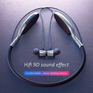 Bluetooth Tai Nghe, Thể Thao Stereo Headphone Tai Nghe Nhét Tai Giảm Tiếng Ồn Rảnh Tay Kèm Micro, LED Màn Hình Hiển Thị Điện Cổ Treo thumbnail