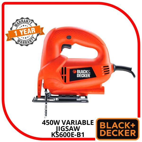 BLACK & DECKER 450W VARIABLE JIGSAW KS600E-B1
