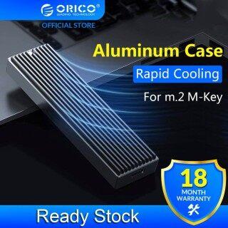 Ốp Lưng ORICO M2 NVME SSD Ổ Cứng SSD Cho NVME PCIE M Key M + B Key Vỏ Ổ Cứng USB C 10Gbps, Hộp SSD M.2 Với Cáp Loại C Đến C M2PJ-C3 thumbnail
