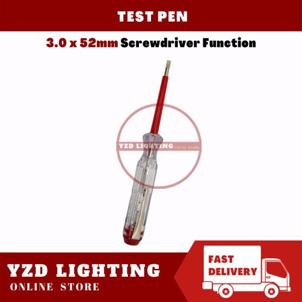 Test Pen Pen Ujian Elektrik Screwdriver Function 3.0 x 52mm Brand New And High Quality