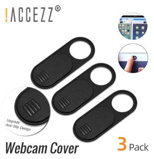 ACCEZZ 2020 Xách Tay WebCam Bìa Màn Trập Riêng Tư Macro Ống Kính Máy Ảnh Bao Gồm Điện Thoại Di Động Chống Trượt Nam Châm Sự Riêng Tư Sticker Cho PC máy Tính Bảng Nhựa Trượt thumbnail
