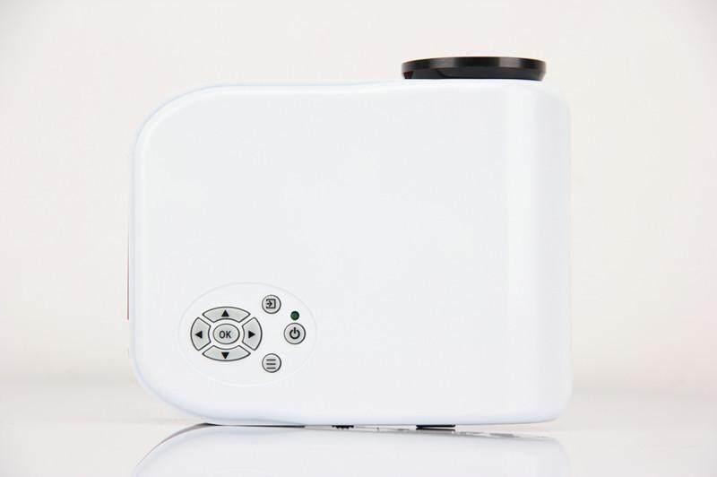 Bessky HX868 Nhà Máy chiếu LED, Mini HD 1080 P Máy chiếu di động Đa Năng