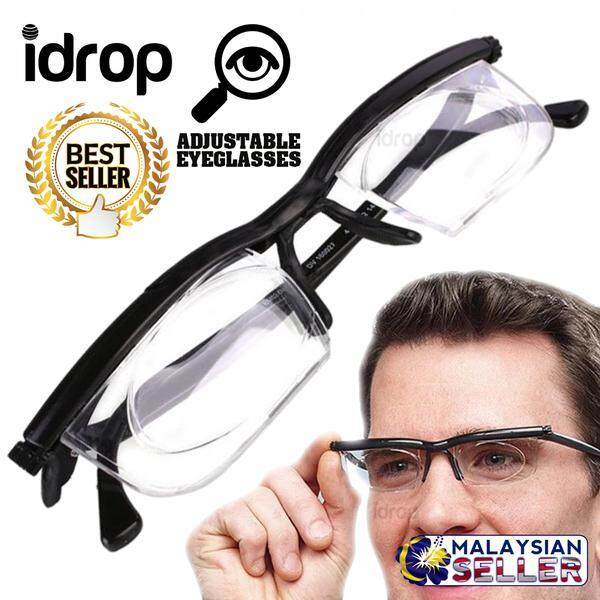 Idrop Dialing Glasses - Vision Adjustable Perception Eyeglasses By Sell Zone.