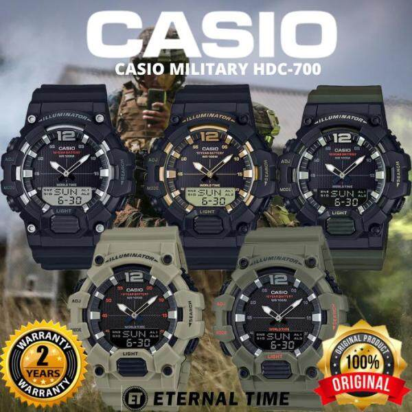 (2 YEARS WARRANTY) CASIO ORIGINAL HDC-700 SERIES YOUTH ANALOG-DIGITAL MENS WATCH JAM TANGAN LELAKI CASIO ORIGINAL CASIO WATCH FOR MEN ORIGINAL CASIO WATCH FOR MAN ORIGINAL JAM TANGAN CASIO Malaysia