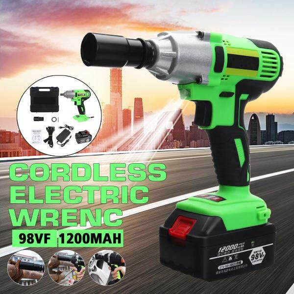 12000mAh Electric Impact Wrench Cordless Brushless Motor 500Nm High Torque Low Noise Power Tools Car Repair With Battery