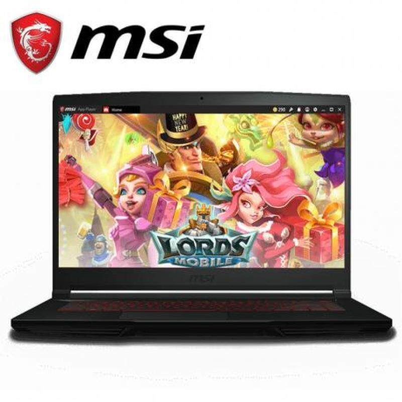 MSI GF63 9RCX-665 (i5-9300H/4G/256GSSD/GTX1050Ti-4GD5/15.6 FHD 60Hz Malaysia