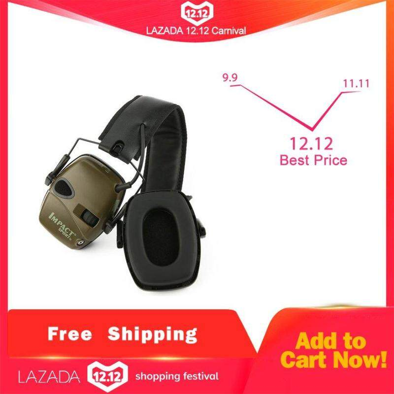 UINN Outdoor Sports Anti-noise Impact Amplification Electronic Shooting Earmuff