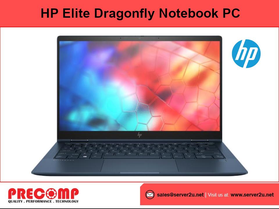 HP Elite Dragonfly Notebook PC (i7-8665U.16GB.512GB) (9EL12PA) Malaysia