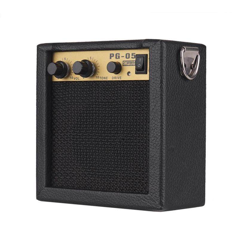Wooden Mini Guitar Amplifier Amp Speaker 5W with 6.35mm Input 3.5mm Headphone Output Malaysia