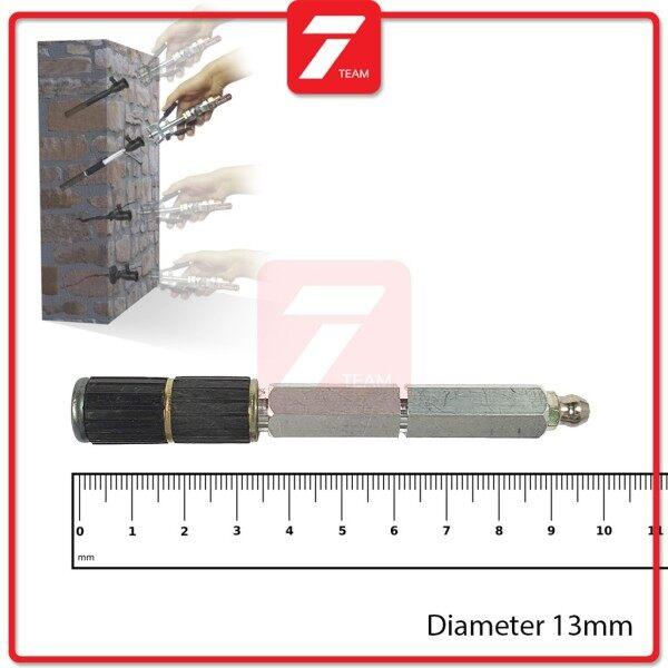 13mm Aluminium Packer / PU Foam Injection Grouting Packer Crack Repair
