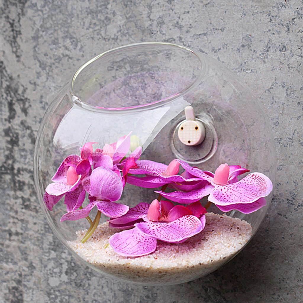 Acituna Kaca Gantung Vas Bunga Botol Tempat Lilin Lezat Terarium Tanaman Planter By Acituna.