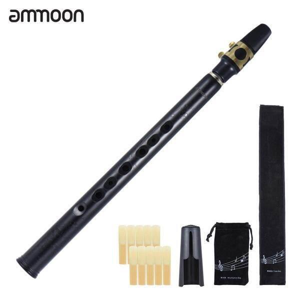 Ammoon Túi Mini Bb KÈN Saxophone ABS Với Miệng Alto 10 Chiếc Túi Mang Đồ Nhạc Cụ