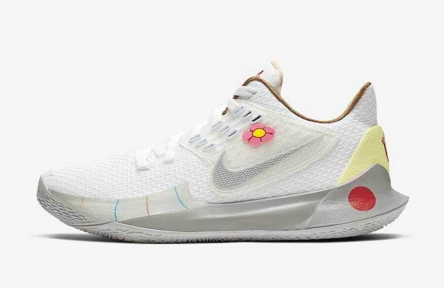 buy popular d4909 624f6 Nike_sandy Kyrie 5 Low 2x SpongeBob Joint Series Easter Sneakers Sandy  Cheeks Matching Basketball Shoes Breathable Footwear Super Light Support  Sports ...