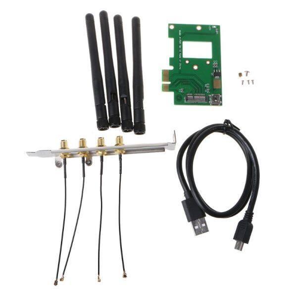 Bảng giá BCM94360CD/BCM94331CD Để PCI-E 1X Cạc Mạng Máy Tính Để Bàn Card Wi-Fi Mô-đun Phong Vũ