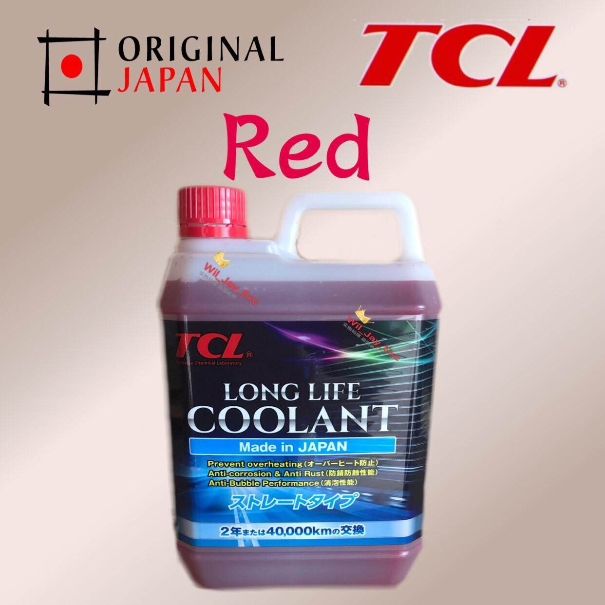 Tcl Long Life Coolant (red) 2 Liter For Car By Wil_jay_3143.
