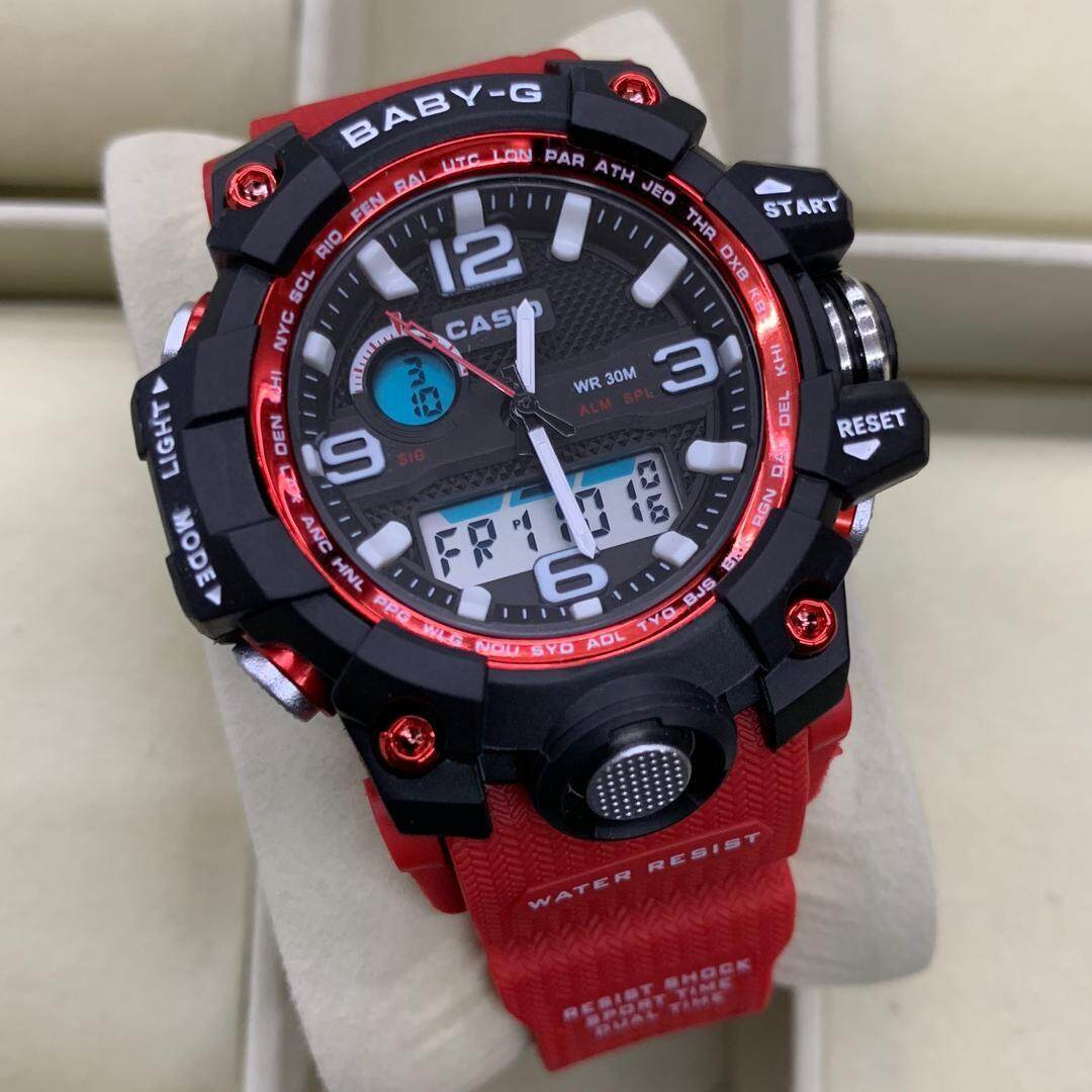 SPECIAL PROMOTION CASI0 G_BABY_G_ RUBBER STRAP WATCH FOR WOMEN Malaysia
