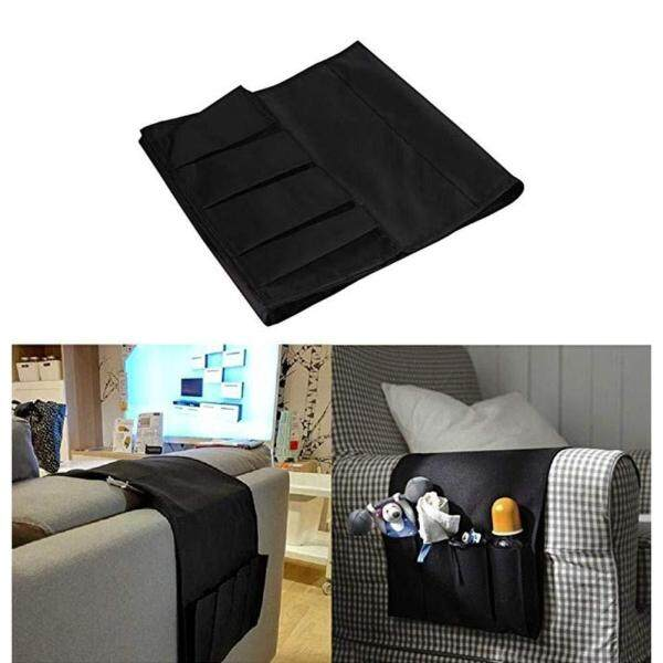 Sofa Couch Remote Control Holder Arm Rest Organizer Storage Bag Pouch Pocket