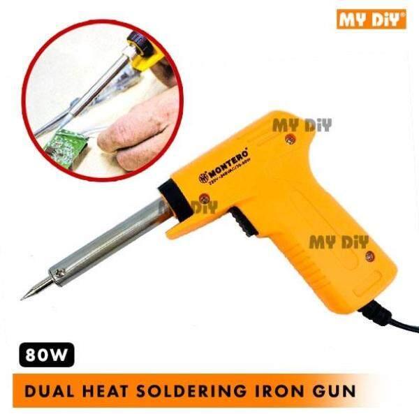 ☂  MYDIYHOMEDEPOT - MONTERO PROFESSIONAL QUICK HEATING Soldering Iron Gun 80W Dual Heat Soldering Iron Gun