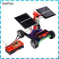 SunInToys Mô Hình Xe Điều Khiển Từ Xa Không Dây Xe Hơi Năng Lượng Mặt Trời Tự Làm Quà Tặng Đồ Chơi Trẻ Em