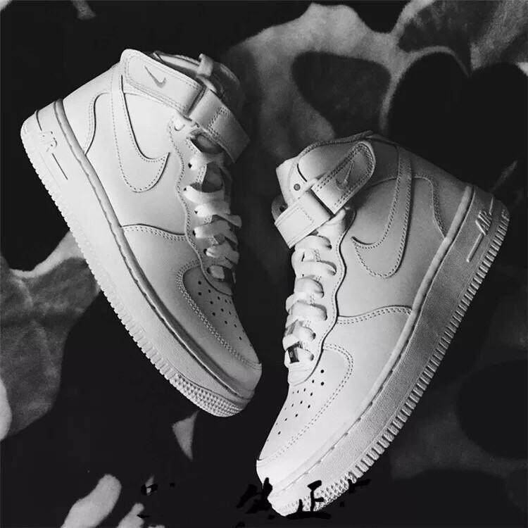 จันทบุรี Original Nike_Air_Force_1 MID 07 AF1 Men Shoes Sneakers 315123-043