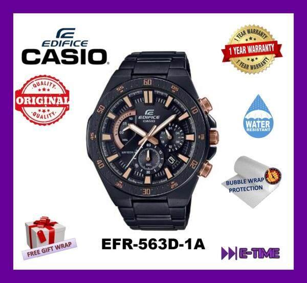 *NEW* CASIO EDIFICE ORIGINAL EFR-563DC-1A MEN CHRONOGRAPH EFR-563DC Malaysia