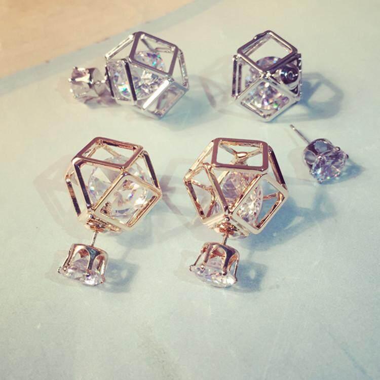 Mode Untuk Wanita Kristal Indah Anting-Anting Bertatah Berlian By Lanie Mao.