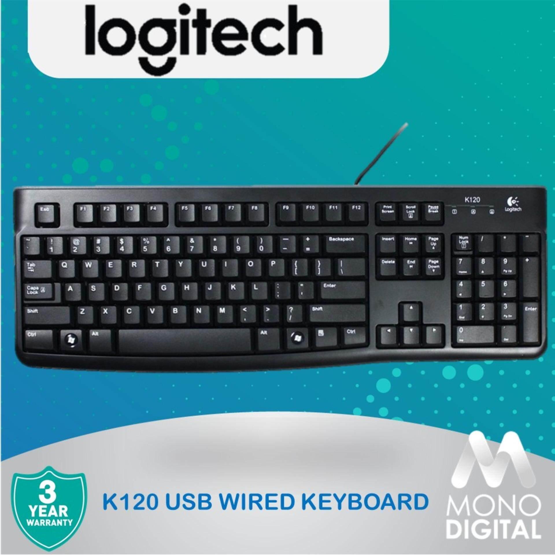 Logitech USB Keyboard K120 (920-002582) (Logitech Malaysia) Malaysia