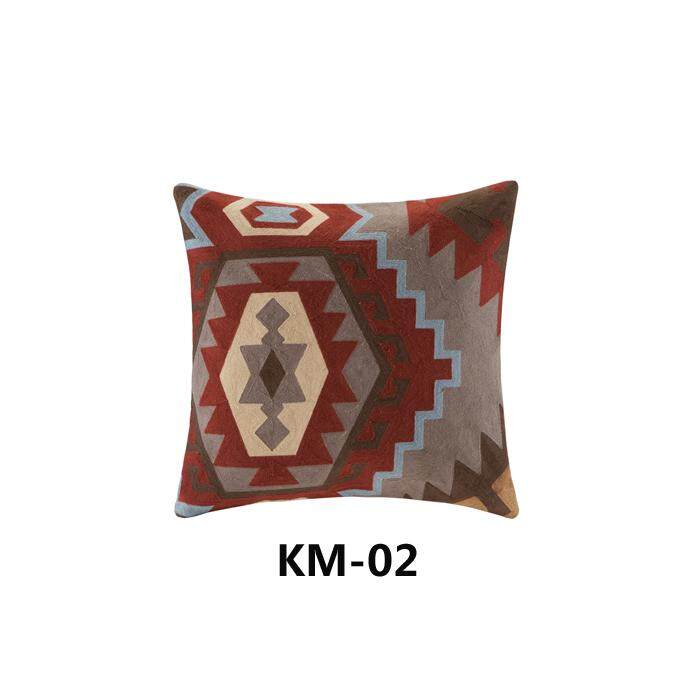 Kilim Geometry Patterns Embroidery throw pillow American Couch Pillow Backrest Lumbar Cool MIMZF Back throw pillow