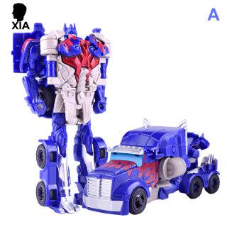 XIA Mô Hình Xe Hơi Robot Biến Hình Nhân Vật Hành Động Đồ Chơi Đồ Chơi Trẻ Em, Quà Tặng Giáng Sinh thumbnail