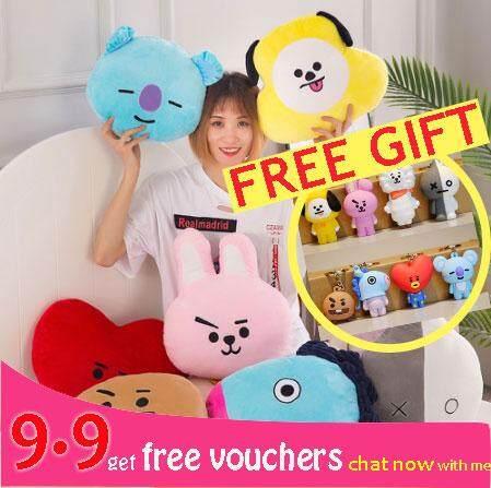 Free Gift BTS bt21 bolster pillow Kpop Home Bangtan Boys BTS Vapp  Travesseir Warm Bolster Q Almofada De Pelucia Bon TATA VAN COOKY CHIMMY  SHOOKY KOYA