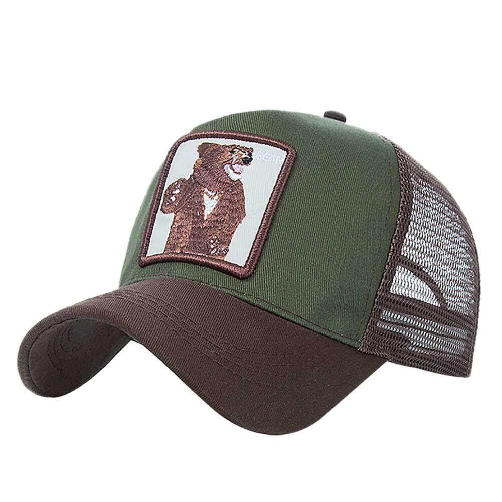 2b48ec3ec7907 Fashion Mesh Baseball Cap Unisex Lovely Animals Caps Cap Dad Hat Summer  Adjustable